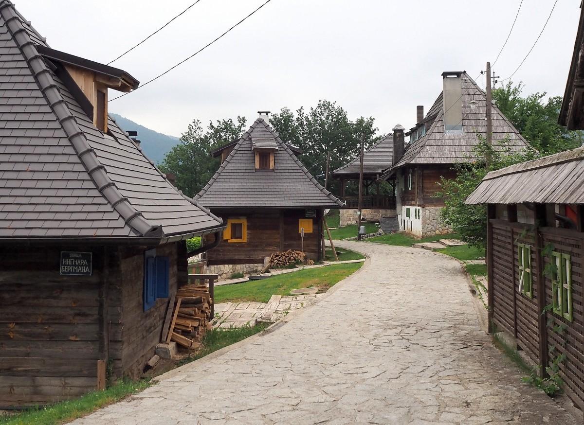 Zdjęcia: Drvengrad, Zlatibor, drewniane miasteczko..., SERBIA
