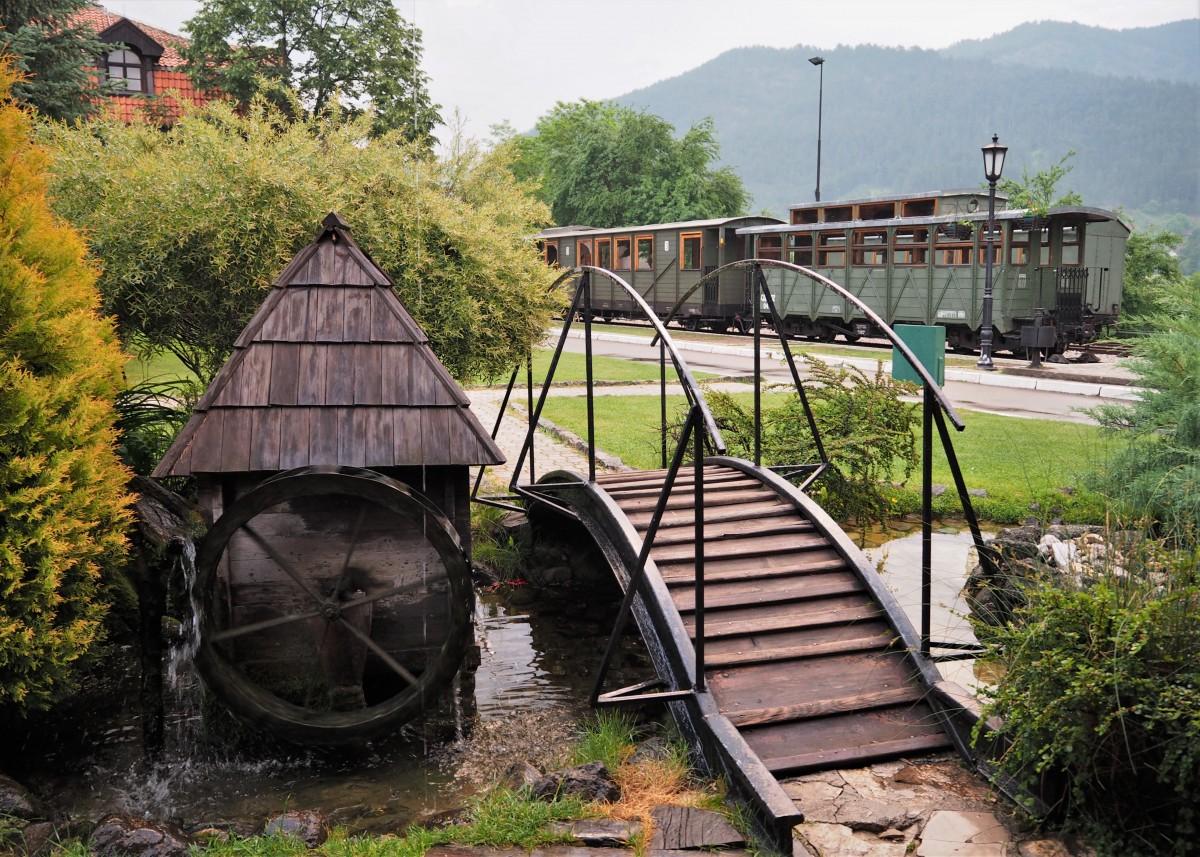 Zdjęcia: Mokra Gora, Zlatibor, na stacji.., SERBIA