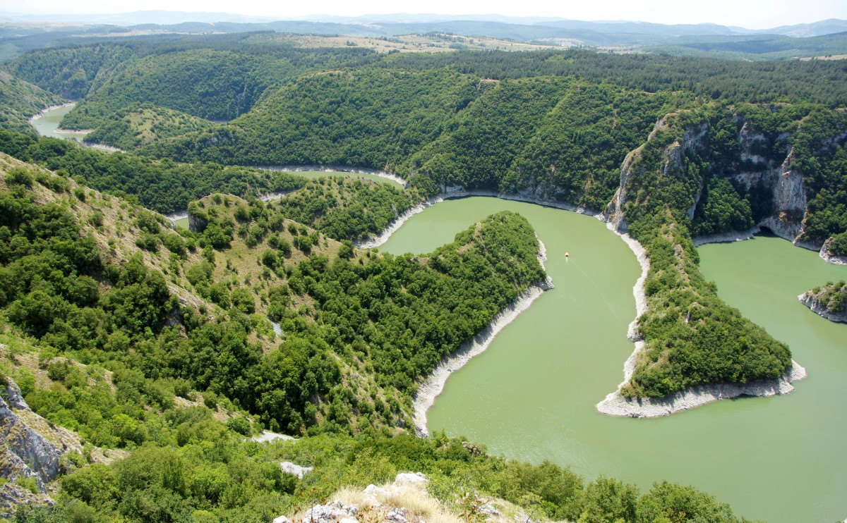 Zdjęcia: Drużiniće, płd.-zach. Serbia, Kanion rzeki Uvac, SERBIA