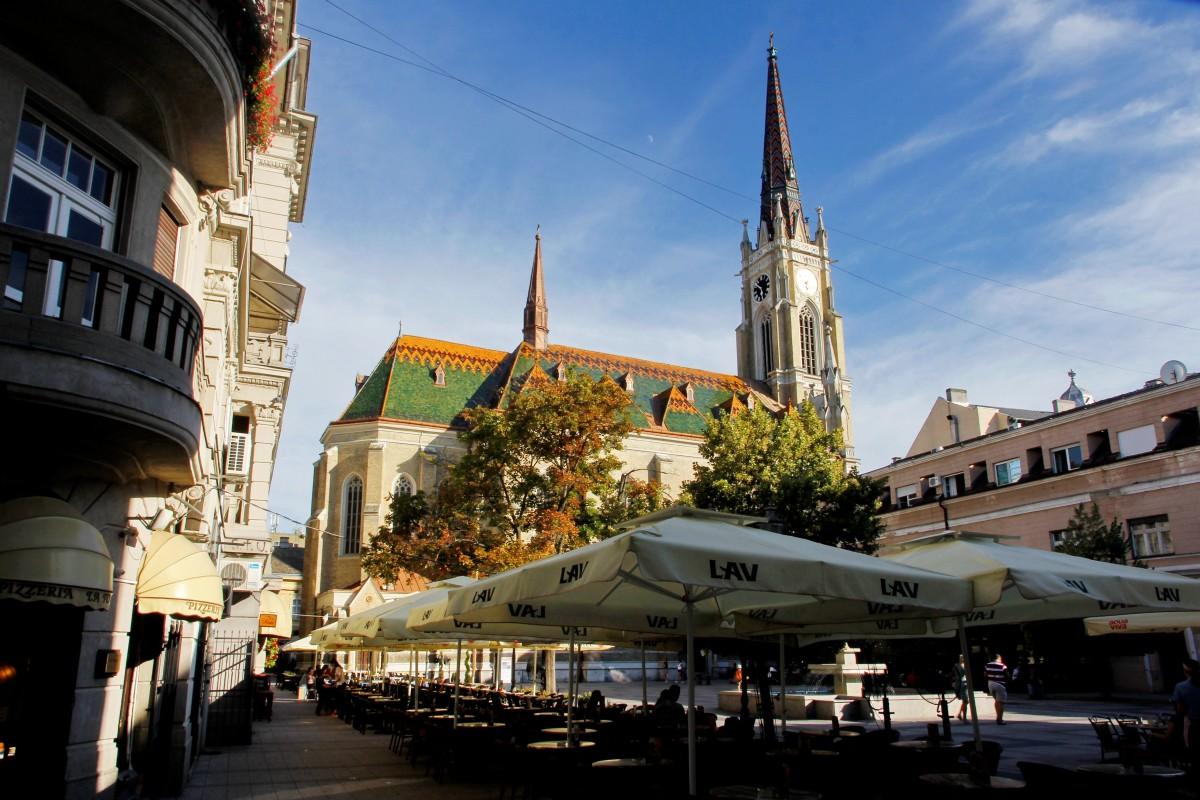 Zdjęcia: Nowy Sad, Wojwodina, Katedra rzymskokatolicka, SERBIA