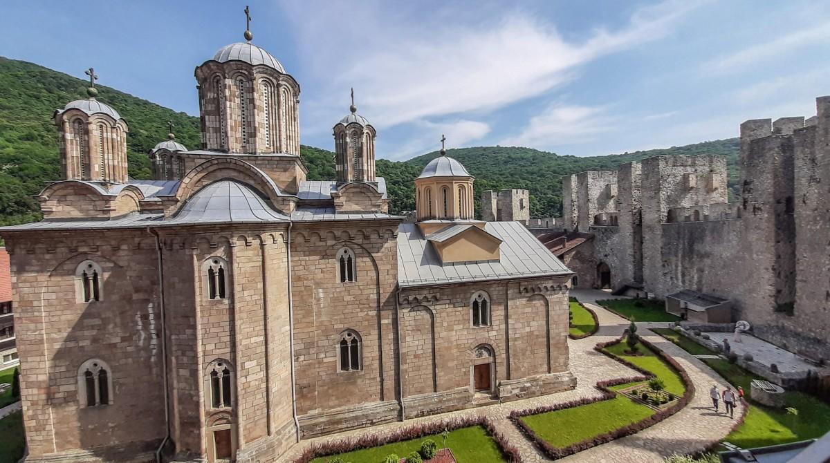 Zdjęcia: Despotovac, Monastyr Manasija, SERBIA