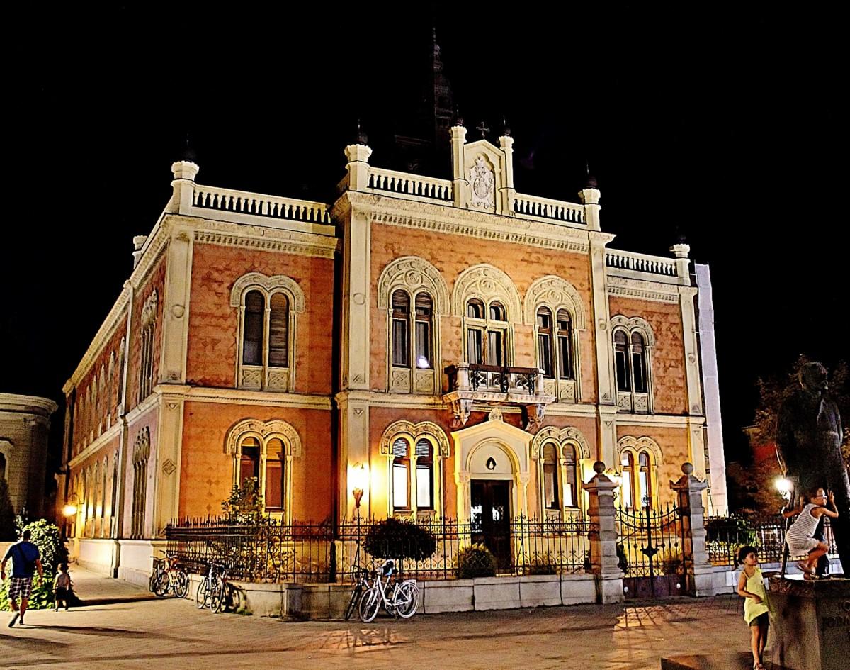 Zdjęcia: Nowy Sad, Vojvodina, Pałac Biskupi z 1901 roku, SERBIA