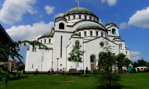 SERBIA / - / Belgrad / Hram św Sawy