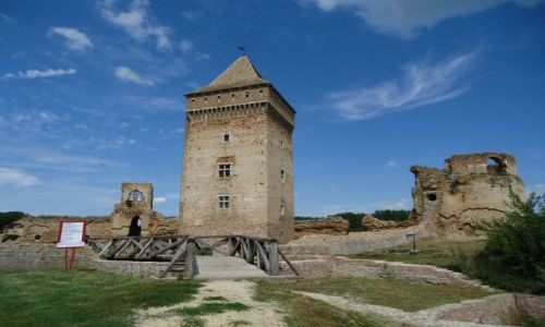 Zdjęcie SERBIA / Wojwodina / Bac / Ruiny twierdzy