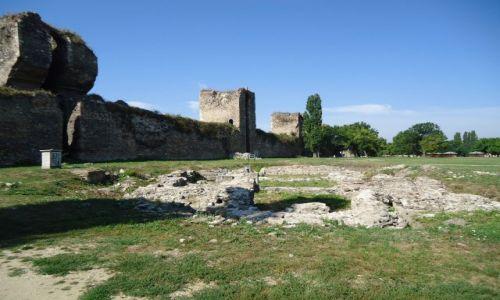 SERBIA / Podunavlje / Smederewo / Ruiny cerkwii z XV wieku
