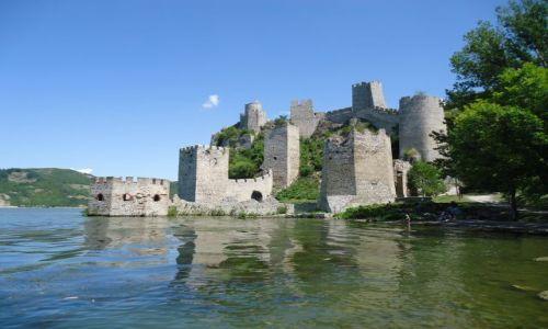 Zdjecie SERBIA / Branicevo / Golubac / Zamek w Golubacu