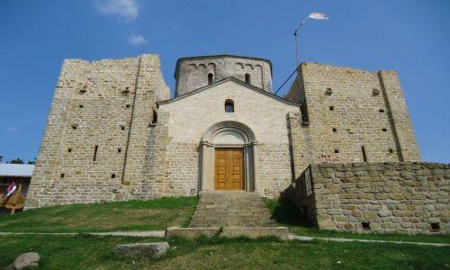 Zdjęcie SERBIA / Raszka / okolice Novi Pazar / Djurdevi Stupovi