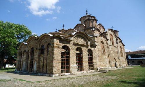 Zdjęcie SERBIA / Kosowo / Gracanica / Najpiękniejszy serbski monastyr