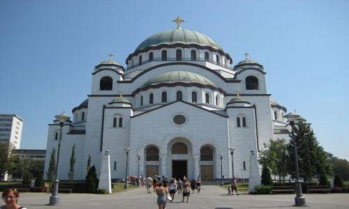 Zdjecie SERBIA / - / Belgrad / Cerkiew św. Sawy