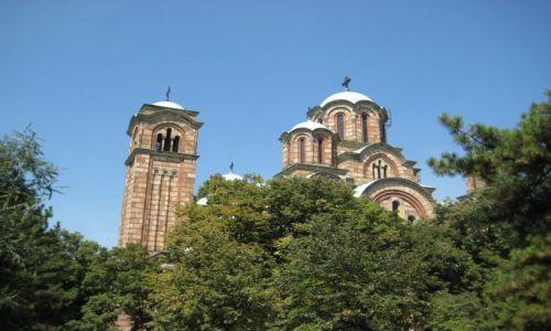 Zdjecie SERBIA / - / Belgrad / Cerkiew św. Marka