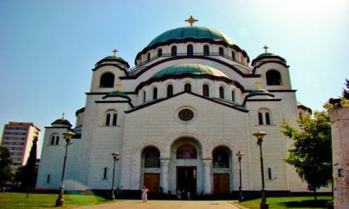 Zdjęcie SERBIA / - / Belgrad / Belgrad-cerkiew św.Sawy