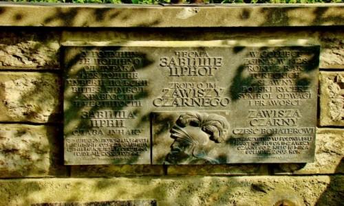 Zdjęcie SERBIA / Branicevski / Golubac / Golubac-tablica upamiętniająca śmierć Zawiszy Czarnego