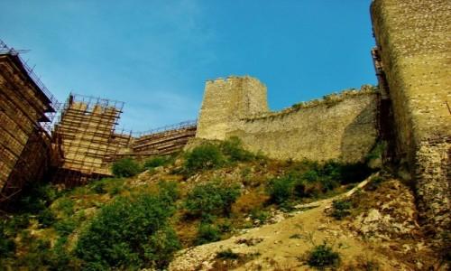 Zdjęcie SERBIA / Branicevski / Golubac / Golubac-twierdza z XIV wieku w remoncie