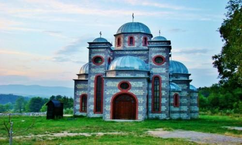 Zdjecie SERBIA / Mirovo / Rtanj / Etno Hotel Rtanj Balasevic-cerkiew pw.św.Męczenników Machabejskich