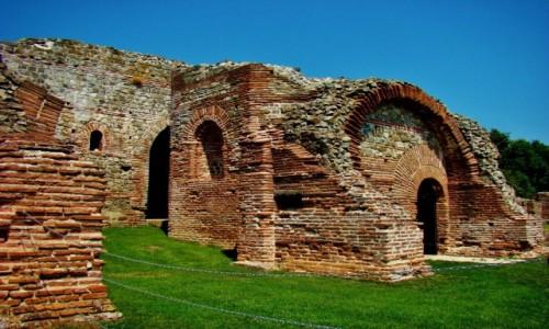 SERBIA / Zajecar / Gamizgrad / Felix Romuliana-kompleks pałaców i świątyń zbudowany przez cesarza Galeriusza w III i IV wieku