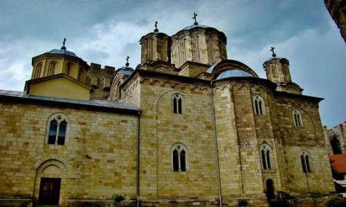 Zdjęcie SERBIA / Gornja Resava / Despotovac,Manasija / Manasija-kościół św.Trójcy/1406-18/