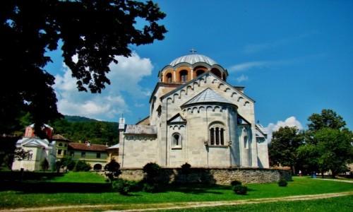 Zdjęcie SERBIA / Brezova / Studenica / Studenica-cerkiew pw.Zaśnięcia Bogurodzicy z XII wieku