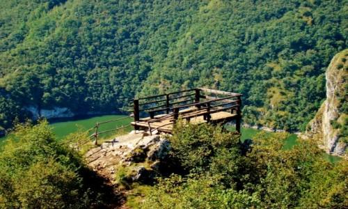 Zdjęcie SERBIA / płd.-zach.Serbia / Sjenica / Kanion rzeki Uvac-punkt widokowy