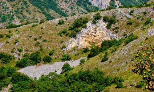 Zdjecie SERBIA / płd.-zach.Serbia / Sjenica / Kanion rzeki Uv