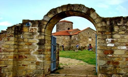 SERBIA / płd.-zach.Serbia,okręg Raska / Novi Pazar / Novi Pazar-cerkiew św.Piotra i Pawła z IX wieku