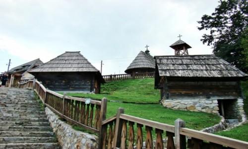 Zdjecie SERBIA / zach.Serbia,Zlatibor / Drvengrad / Drvengrad-drewn