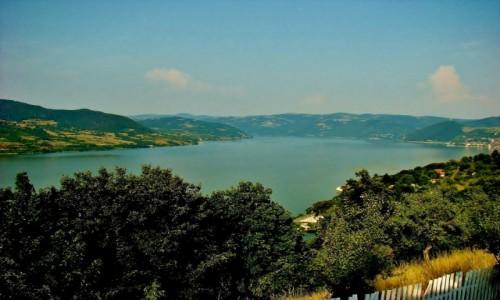Zdjęcie SERBIA / Djerdap / Żikingrad / Żikingrad-etno kompleks nad Dunajem