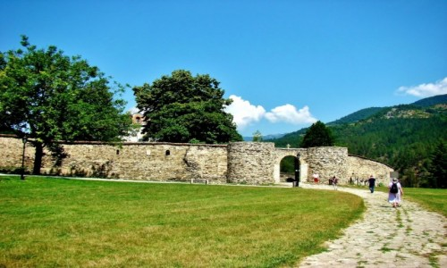 Zdjęcie SERBIA / Brezova,Raska / Studenica / Studenica-wejście przez bramę wschodnią