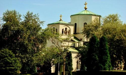 Zdjęcie SERBIA / - / Belgrad / Belgrad-kościół św.Sawy