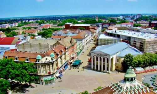Zdjęcie SERBIA / Vojvodina / Subotica / Subotica-widok z wieży ratusza