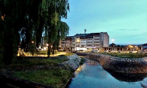 Zdjęcie SERBIA / zach.Serbia,Zlatibor / Sjenica / Sjenica o zmierzchu