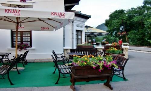 Zdjęcie SERBIA / zach.Serbia / Mokra Gora / Mokra Gora-hotel przerobiony z dworca kolejowego