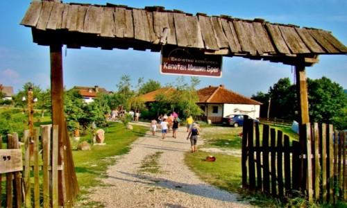 Zdjęcie SERBIA / Djerdap / Żikingrad / Żikingrad-etno kompleks