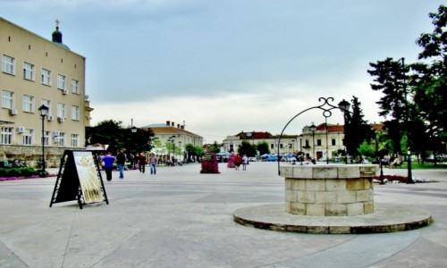 Zdjęcie SERBIA / Borski / Negotin / Negotin-studnia na placu Stanojevica