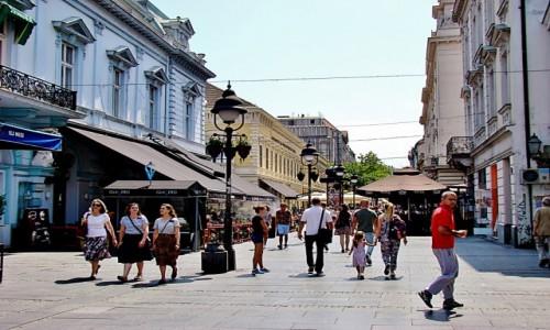 Zdjęcie SERBIA / - / Belgrad / Belgrad-deptak Kneza Mihaila