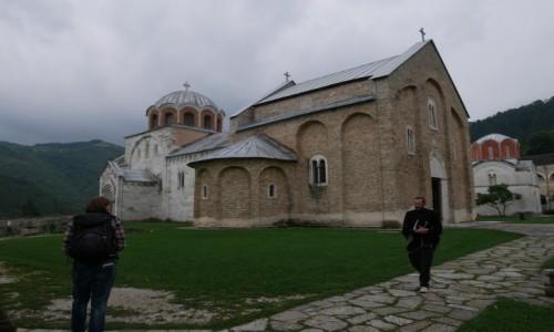 Zdjęcie SERBIA / południe Serbii / Studenica / po porannej mszy