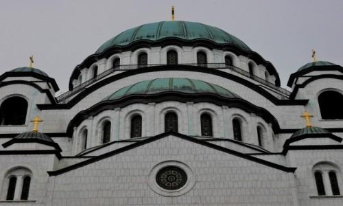Zdjecie SERBIA / .. / Cerkiew / Cerkiew św.  Sawy