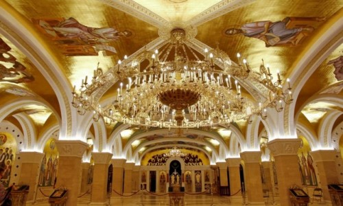 Zdjęcie SERBIA / - / Belgrad / Cerkiew świętego Sawy