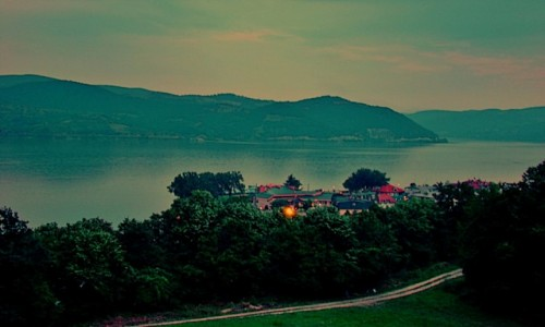 Zdjecie SERBIA / Borski,Park Narodowy Djerdap / Donji Milanovac / Nad Dunajem