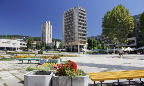 Zdjecie SERBIA / Serbia Centralna / Użice / Użice, plac w centrum
