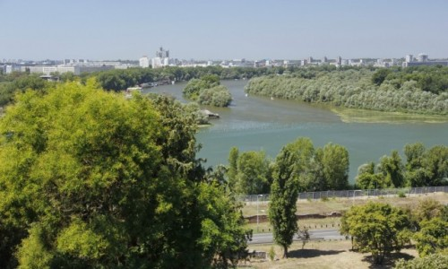 Zdjecie SERBIA / Belgrad / Belgrad / Widok na Nowy Belgrad