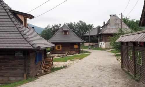 Zdjecie SERBIA / Zlatibor / Drvengrad / drewniane miasteczko...