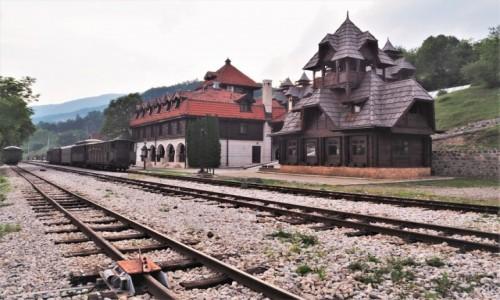 SERBIA / Zlatibor / Mokra Gora / stacja Mokra Gora...