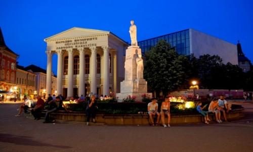 Zdjęcie SERBIA / - / Subotica, Plac Wolności / pierwszy wieczór w Serbii...