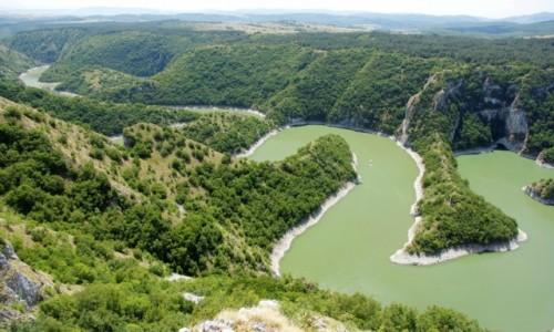 Zdjecie SERBIA / płd.-zach. Serbia / Drużiniće / Kanion rzeki Uvac