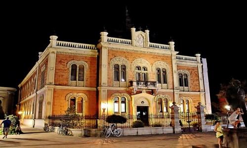 Zdjecie SERBIA / Vojvodina / Nowy Sad / Pałac Biskupi z 1901 roku