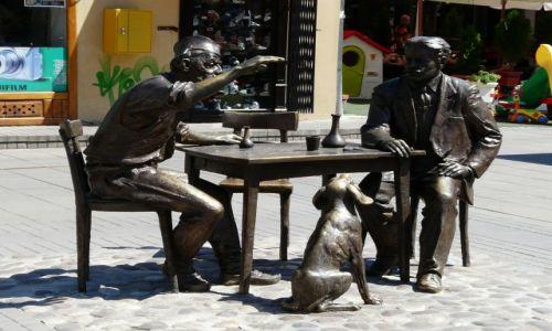 Zdjecie SERBIA / Nisz / Rynek / rzeźba
