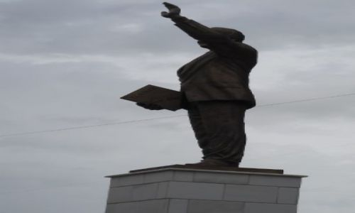 SERBIA / - / Prisztina / KOSOVO - pomnik Billa Clintona