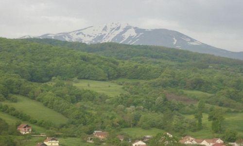 SERBIA / Kosowo / Okolice Urosevaca / Droga ze Skopje do Prisztiny