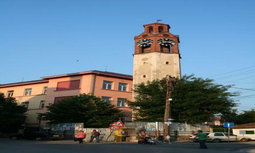 SERBIA / Kosowo / Prisztina / Wieża zegarowa