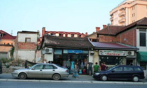 SERBIA / Kosowo / Prisztina / Ulice Prisztiny